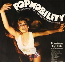 POPMOBILITY abba/silver convention/o'jays/tina charles/van mccoy/etc LP PS EX/EX