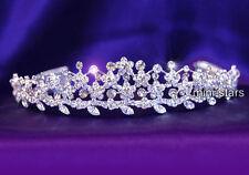 Hochzeit Perle Diadem Benutzen Swarovski Kristall T1427