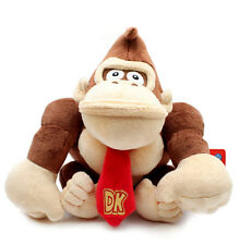 1X Cute Super Mario Bros New 9inch Donkey Kong Plush Doll Figure Toy