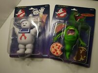 🌟 Real Ghostbusters 🌟 Stay Puft & Slimer Kenner Walmart Retro Action Figures