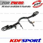 KDF PW80 PY80 COYOTE80 80CC FOOTREST FOR YAMAHA PEEWEE PW PY 80 FOOT REST PEGS