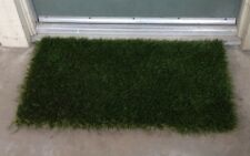 "ARTIFICIAL GRASS DOORWAY MAT - 18"" X 30""  1.75 inch PILE HEIGHT"