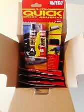 Großpackung für Privat und Gewerbe 12 Stück - Alteco 3-Ton Quick Epoxid-Kleber