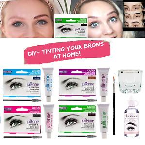 Julienne Professional Tinting Eyelash & Eyebrow Dye Tint Lash Kit *FAST DELIVERY