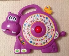 VTech Spinning Lights Learning Hippo - Vocabulary Builder 80-182300 Musical Toy