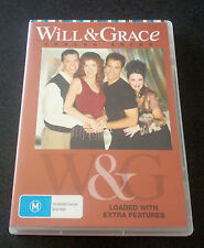 Will & Grace : Season 3 (DVD, 4-Disc Set) - LIKE NEW