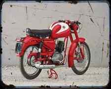 DUCATI 125 Sport 55 1 A4 Foto Impresión moto antigua añejada De