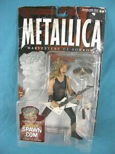 SEALED Metallica James Hetfield Action Figure Harvesters Sorrow McFarlane