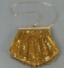 Vintage Gold beaded Handbag Purse