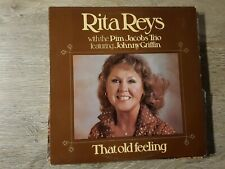 LP Rita Reys With The Pim Jacobs Trio Feat.Johnny Griffin ‎– That Old Feel‎ing