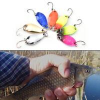 3cm 5g colorful trout lure spoon bait 7pcs/lot single hook*metal fishing - SL