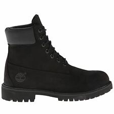 Timberland Men's Icon Premium Leather Boot Mens Shoes Black 11 000906995370
