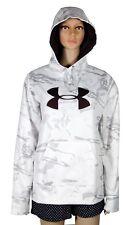Under Armour ColdGear Women's Hoodie Sweatshirt Fleece White Camo Medium NWT $75