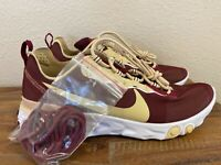 Nike React Element 55 Florida State FSU Seminoles Shoes CK4838-600 Sz 8-14