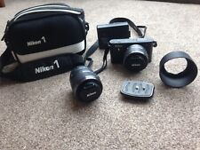 Nikon 1 J1 - Excellent condition, hardly used + 2 lenses & accessories