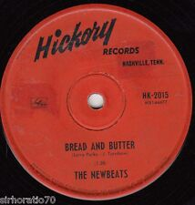 THE NEWBEATS Bread and Butter / Tough Little Buggy 45