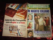 FOTOROMANZO ALBO BOLERO N°4 UN MARITO ITALIANO CON JOHNNY DORELLI ANNO 1973