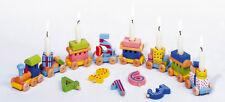 GEBURTSTAGSZUG + Zahlen 1-6 Holz Tischdeko Kindergeburtstag Geburtstagsdeko NEU
