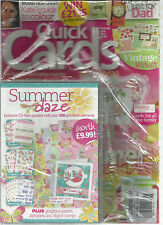 QUICK CARDS MADE EASY,  JUNE, 2011 ( YOUR FAVOURITE CARD MAKING MAGAZINE )