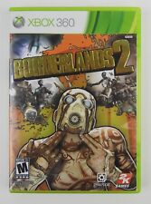 Borderlands 2 (Microsoft Xbox 360, 2012) Complete w/ case Excellent condition