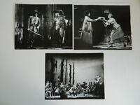 3 Foto Original Zoe Dominic Real Opera House Der Freischütz Londres 1977