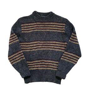 Pendleton 'TALL' 100% Pure Virgin Wool Knit Men's Jumper/Sweater - Size L/XL