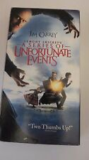 Lemony Snicket's A SERIES OF UNFORTUNATE EVENTS ~ VHS, 2005 ~ JIM CARREY~1+ SHIP