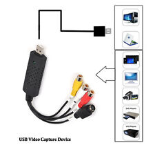 USB2.0  Video Capture Card TV Tuner VCR DVD Audio Adapter Converter Connector