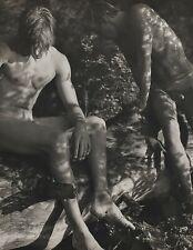 1988 Vintage BRUCE WEBER Male Nude TOM w TYKE Adirondack Gay Int Photo Art 11X14