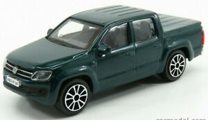VW AMAROK 1:43 Car NEW Model Diecast Models Die Cast Metal Volkswagen Green