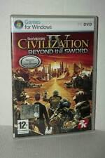 SID MEIER'S CIVILIZATION IV BEYOND THE SWORD ESP USATA PC DVD VER ITA FR1 52696