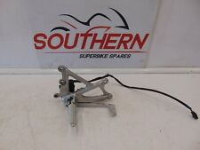YAMAHA YZF R1 14B 2010 RIGHT FOOT REST AND BRAKE LEVER