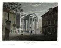 Philadelphia Girard Bank First Bank of United States c.1850 steel engraved print