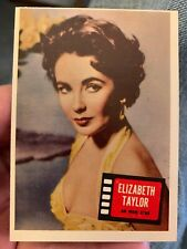1957 TOPPS HIT STARS CARD # 85 ELIZABETH TAYLOR Movie