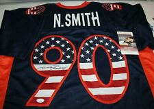 Neil Smith Autographed Signed Denver Broncos USA CUSTOM Jersey JSA