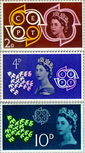 EBS GB 1961 - Europa - CEPT -  SG 626-628 MNH**