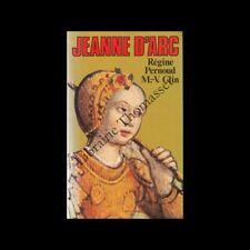 Jeanne d'Arc par régine Pernoud et M.V. Clin