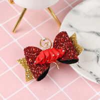 1Pc glitter bow sparkly hair clip for girls hairpin barrettes hair accessorie Kw