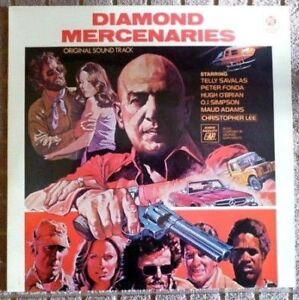 Georges Garvarentz – Diamond Mercenaries Soundtrack - U.K 1976 Press - Vinyl LP