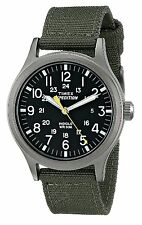 Timex Men's Quartz Watch with dial Analogue Display and Nylon Strap T49961