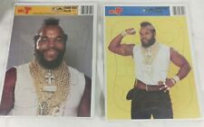 1984 MR.T Tray Puzzle The A-Team SEALED,B. A. Baracus lot of 2