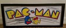 NEW GLASS PACMAN ARCADE DECOR*  game pinball machine man cave shop atari cinema