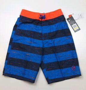 Speedo Boys Thru Way Stripe E-Board 18'' Board Shorts Swim Sizes M-L-XL