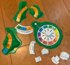 The Game Of Life Replacement Pieces Vtg Used Parts Spinner Buildings Mounds