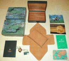 Original Rolex Box u. Booklet Set - Herren Unisex Sport Modelle - Ref. 68.00.08