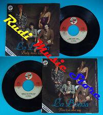 LP 45 7'' LA BIONDA Baby make love There's no other may 1979 italy no cd mc *dvd