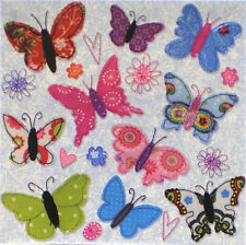 Postcard Art Card Carola Pabst Butterfly Butterflies Flowers Square Picture