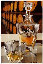 carafe à whisky Neptune CRISTAL DE BOHEME crystalite  verre flute marmite poele