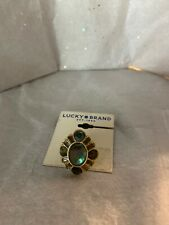 lucky brand ring Gold Tone size 7