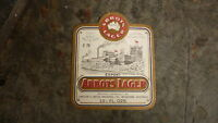 OLD AUSTRALIAN BEER LABEL, 1970s ABBOTSFORD LAGER 13 Oz CUB